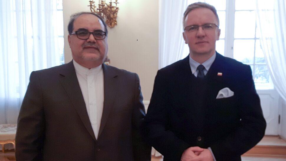 Szczerski spotkał się z ambasadorem Iranu. Padły zapewnienia z polskiej strony