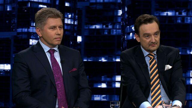"""Profesor Marcin Matczak i Maciej Mitera byli gośćmi """"Kropki nad i"""""""