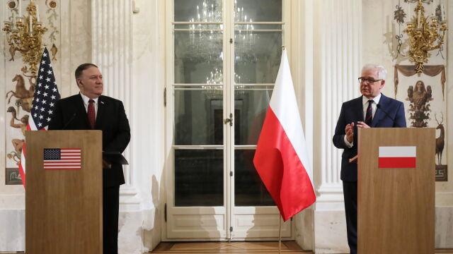 Czaputowicz: podzielamy negatywne stanowisko wobec agresywnych działań Rosji