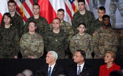Pence: nie mogę być bardziej dumny z Amerykanów, którzy tutaj służą