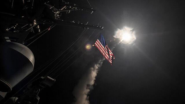 Atak USA na bazę sił Asada