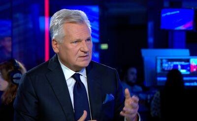 Kwaśniewski: jak słuchałem prezesa (Jarosława Kaczyńskiego), to wyraźnie rysował się tam zawód