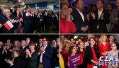 Reakcje na sondażowe wyniki w sztabach wyborczych