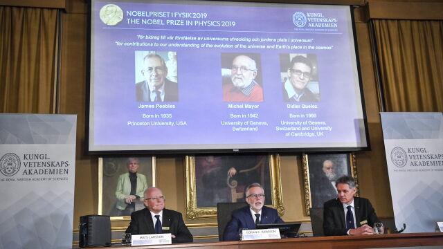 """Nobel z fizyki przyznany. """"Zmienili nasze wyobrażenia o kosmosie"""""""