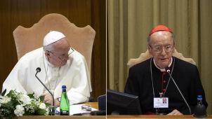 Synod biskupi w Watykanie. Brawa po wystąpieniu brazylijskiego kardynała