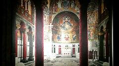 Magazyn przybylski | Wnętrze kaplicy zamkowej wzorowanej na romańskiej kaplicy w Palermo