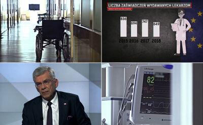 """""""Kolejne etapy rodzą kolejne kryzysy"""". Karczewski kontra statystyki"""