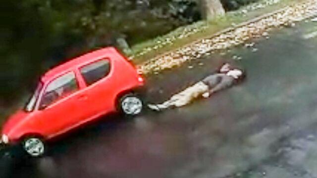 """Wjechała w pieszego na pasach. """"Padł jak rażony prądem"""""""