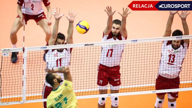 Polska - Brazylia 2:3 [RELACJA]