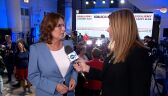 Kidawa-Błońska: Polacy chcą zasypania podziałów. Chcą się czuć bezpiecznie, to stawka wyborów