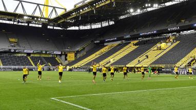W Dortmundzie pokłonili się pustym trybunom