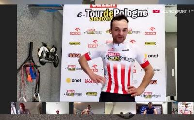 Bartosz Zmarzlik po 2. etapie ORLEN eTour de Pologne Amatorów