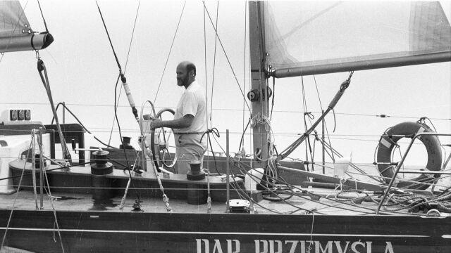 Nie żyje legendarny żeglarz Henryk Jaskuła