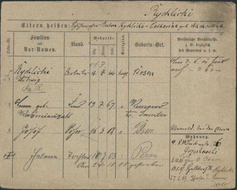 Dziadek pani kanclerz wyjechał z Poznania w 1915 r.