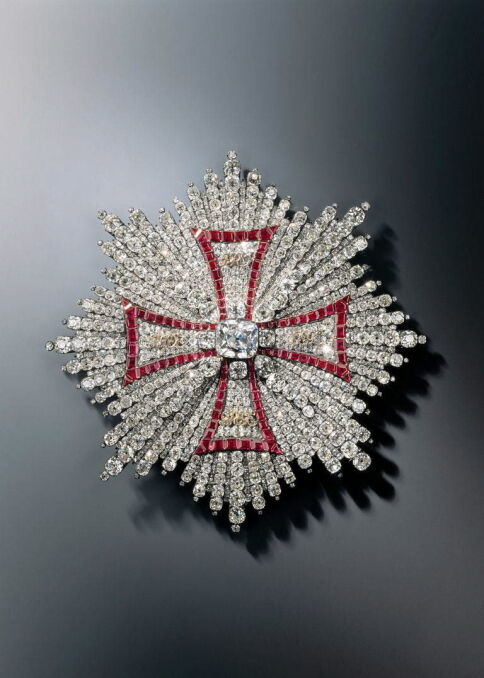 Gwiazda Orderu Orła Białego skradziona ze skarbca w Dreźnie