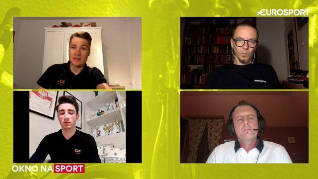 """Paluta i Aniołkowski w """"Oknie na sport"""". """"To może być punkt zwrotny dla całego kolarstwa"""""""