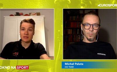 Michał Paluta o zawieszonym sezonie kolarskim 2020
