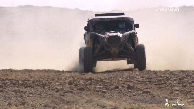 9. etap Rajdu Dakar 2021 - SSV