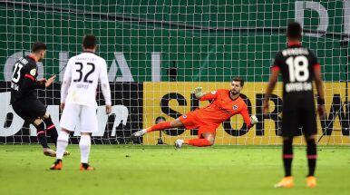 Z nieba do piekła. Eintracht rozbity przez Bayer Leverkusen w Pucharze Niemiec