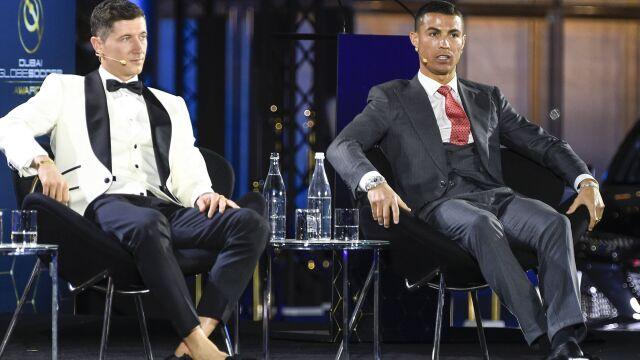 """""""Wyjątkowa rozmowa"""". Lewandowski o kulisach spotkania z Ronaldo"""