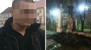 Podpalenie budki przy ambasadzie. Jeden aresztowany, dwóch zwolnionych