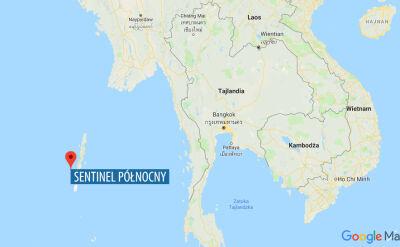 Misjonarz został zabity na wyspie Sentinel Północny