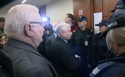 Kaczyński i Wałęsa spotkali się w sądzie