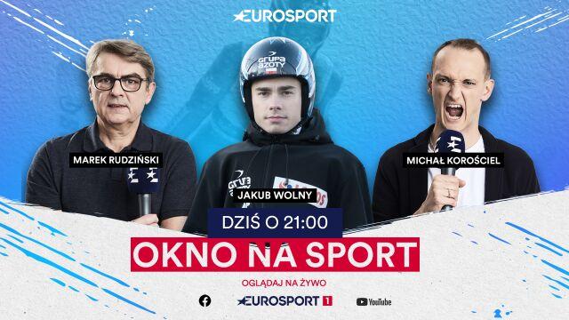 """Wtorkowe """"Okno na sport"""". Jakub Wolny był gościem Eurosportu"""