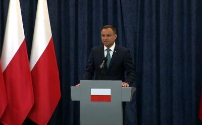 Prezydent Duda: wielu ludzi zaoferowało mi pomoc, żeby te ustawy naprawić