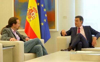 Nieudane negocjacje koalicyjne Pablo Iglesiasa i Pedro Sancheza