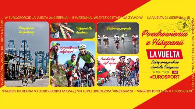 Vuelta od soboty w Eurosporcie 1. Trzy tygodnie zakręconej podróży dookoła Hiszpanii