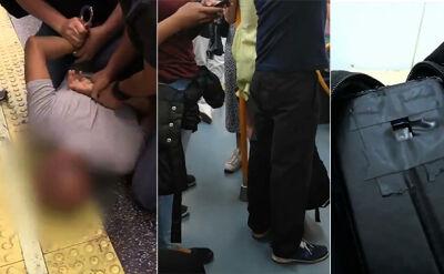 Nagrywał kobiety w metrze. Został aresztowany