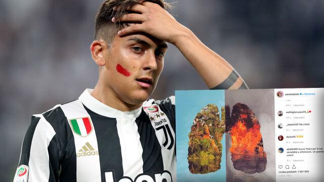 """Piłkarz Juventusu w obronie lasów Amazonii. """"Nasza przyszłość płonie"""""""