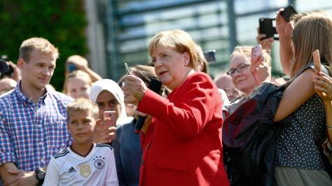 Merkel: jesteśmy gotowi na brexit bez umowy
