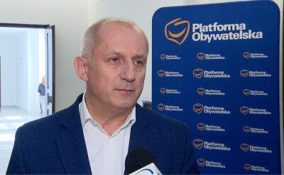 Sławomir Neumann skomentował wyniki najnowszego sondażu poparcia dla partii politycznych
