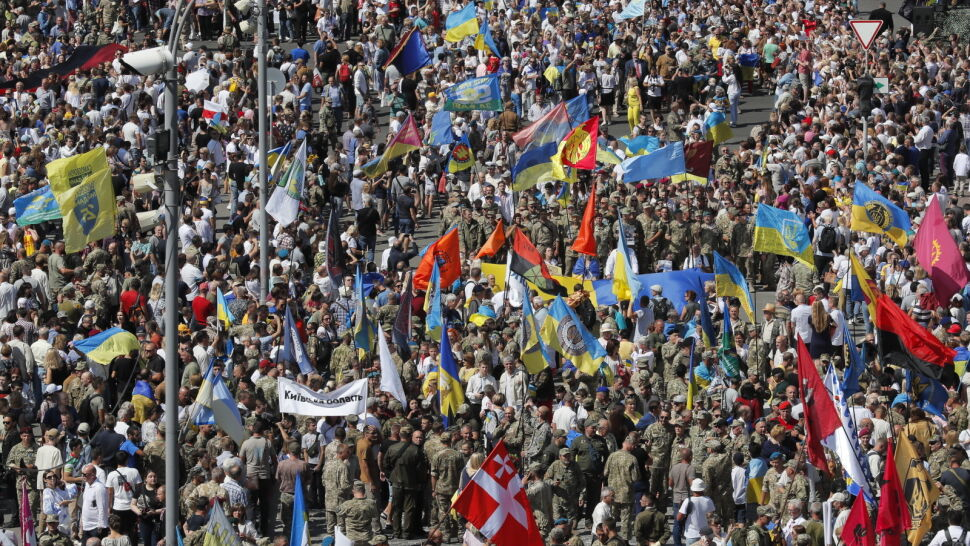 """""""Nasz marsz jest ostrzeżeniem przed ustępstwami wobec Rosji"""""""