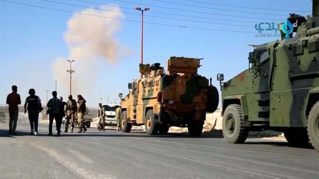 Turecki konwój zaatakowany, zginęli cywile