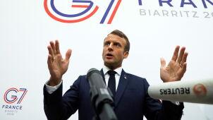 Macron: wszyscy chcą uniknąć konfliktu z Iranem