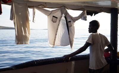 Kolejnych ośmiu migrantów opuściło pokład statku Open Arms