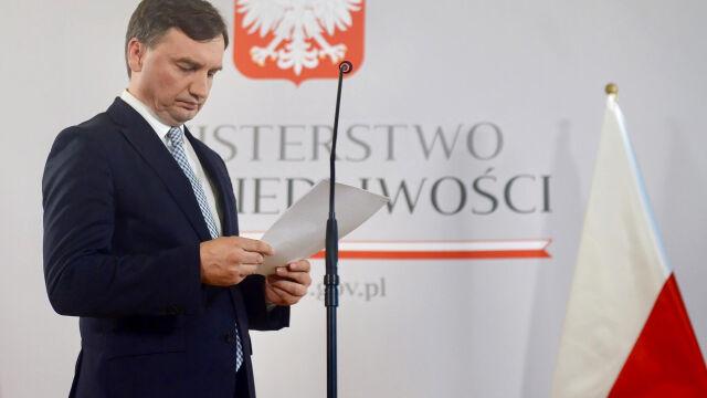 """Zbigniew Ziobro do dymisji?  Sondaż dla """"Faktów"""" TVN i TVN24"""