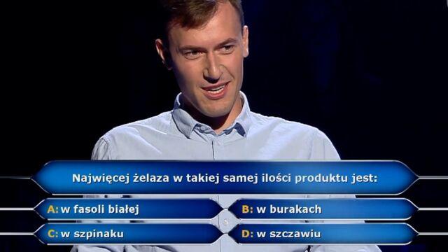 125 tysięcy złotych za pytanie  w