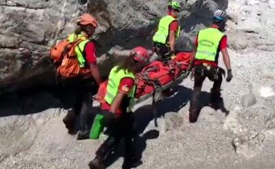 Tragiczna śmierć turysty. Służby krytykowane za opieszałość