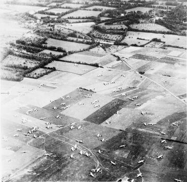 Miejsce lądowania brytyjskiej 6 dywizji powietrznodesantowej
