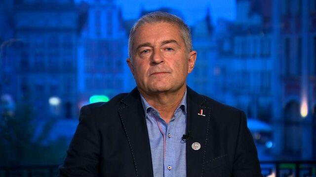 """Władysław Frasyniuk był gościem """"Faktów po Faktach"""""""