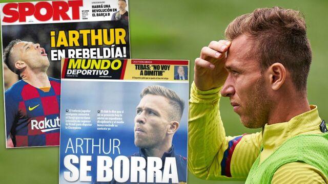 """Bunt w Barcelonie. """"Piłkarz nie ma zamiaru wracać z Brazylii"""""""