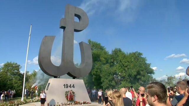 Obchody rocznica Powstania Warszawskiego