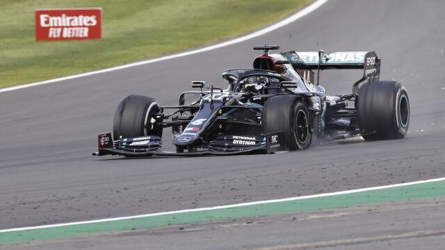 Cuda na  Silverstone. Hamilton wygrał na przebitej oponie