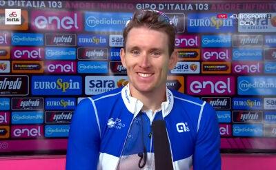 Demare po wygraniu 6. etapu Giro d'Italia