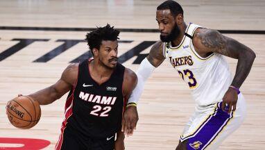 Heat nie poddają się w finale NBA. Butler przeszedł do historii