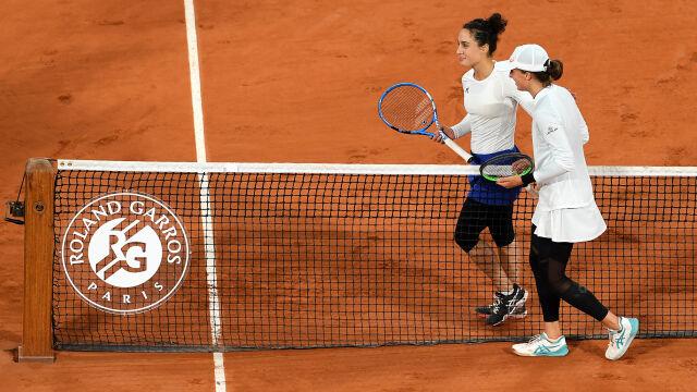 """""""Zagrałam mądrzej"""". Świątek zadowolona z występu w ćwierćfinale French Open"""